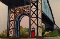 Lighthouse Under The Bridge