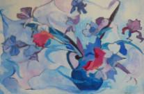Vase of Iris